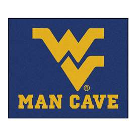 West Virginia University Man Cave Tailgater Rectangular Mats