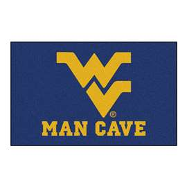 West Virginia University Man Cave UltiMat Rectangular Mats