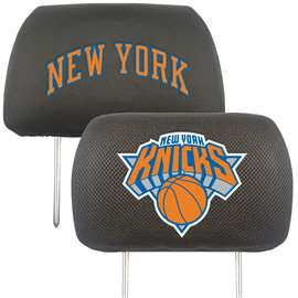 NBA - New York Knicks Head Rest Cover Automotive Accessory