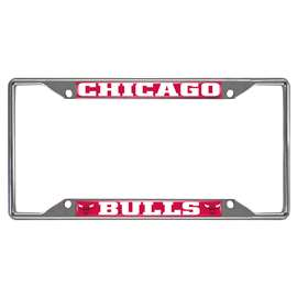 NBA - Chicago Bulls License Plate Frame Automotive Accessory