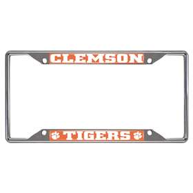 Clemson University  License Plate Frame Car, Truck