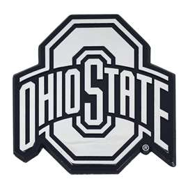 Ohio State University Chrome Emblem Auto Emblem