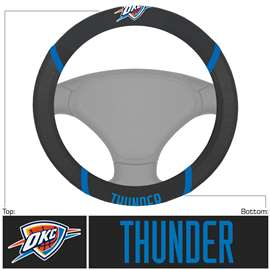 NBA - Oklahoma City Thunder Steering Wheel Cover Automotive Accessory