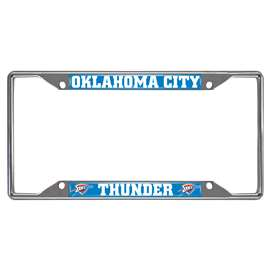 NBA - Oklahoma City Thunder License Plate Frame Automotive Accessory