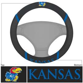 University of Kansas Steering Wheel Cover Automotive Accessory