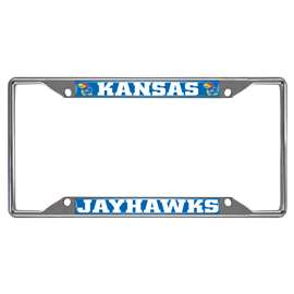 University of Kansas License Plate Frame Automotive Accessory