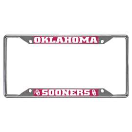 University of Oklahoma  License Plate Frame Car, Truck