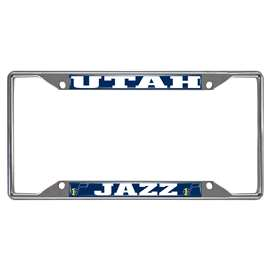 NBA - Utah Jazz License Plate Frame Automotive Accessory