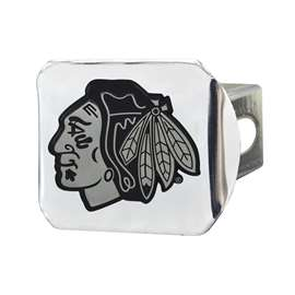 NHL - Chicago Blackhawks Chrome Hitch - Chrome Hitch Covers