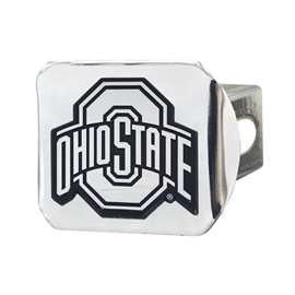 Ohio State University Chrome Hitch - Chrome Hitch Covers