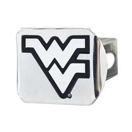 West Virginia University Chrome Hitch - Chrome Hitch Covers