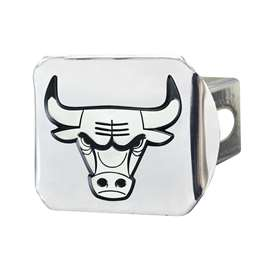 NBA - Chicago Bulls Chrome Hitch - Chrome Hitch Covers
