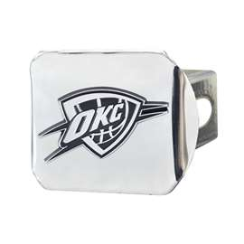 NBA - Oklahoma City Thunder Chrome Hitch - Chrome Hitch Covers