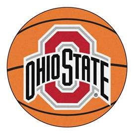 Ohio State University Basketball Mat Ball Mats