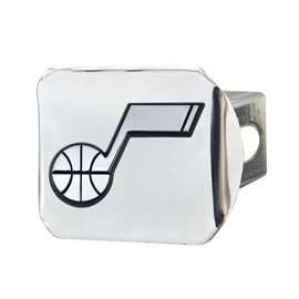 NBA - Utah Jazz Chrome Hitch - Chrome Hitch Covers