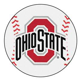 Ohio State University Baseball Mat Ball Mats