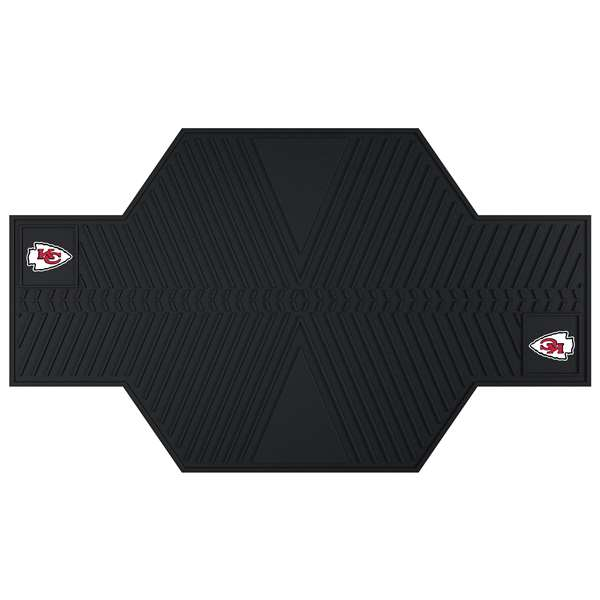 NFL - Kansas City Chiefs Motorcycle Mat Motorcycle Accessory