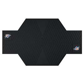 NBA - Oklahoma City Thunder Motorcycle Mat Motorcycle Accessory