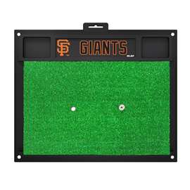 MLB - San Francisco Giants Golf Hitting Mat Golf Accessory