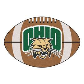 Ohio University Football Mat Ball Mats