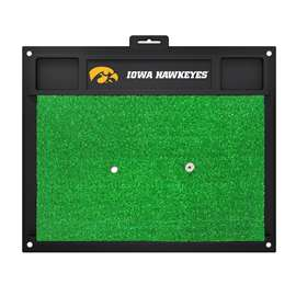 University of Iowa Golf Hitting Mat Golf Accessory