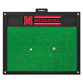 University of Nebraska  Golf Hitting Mat