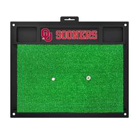 University of Oklahoma  Golf Hitting Mat