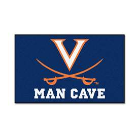 University of Virginia Man Cave UltiMat Rectangular Mats