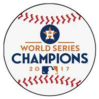 Houston Astros 2017 World Series Champions Baseball Mat