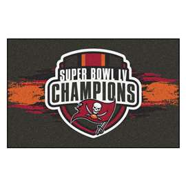 "Tampa Bay Buccaneers Super Bowl LV 55 Champions Starter Mat 19""x30"""