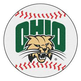 Ohio University   Baseball Mat Rug Carpet Mats