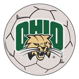 Ohio University   Soccer Ball Mat, Rug , Carpet