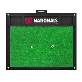 "MLB - Washington Nationals Golf Hitting Mat 20"" x 17""  Golf Hitting Mat"