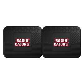 University of Louisiana-Lafayette  2 Utility Mats Rug Carpet Mat