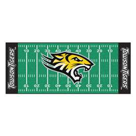 Towson University  Football Field Runner Mat Rug Carpet