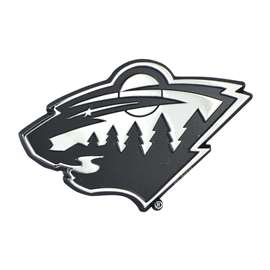 "NHL - Minnesota Wild for Cars Trucks RV's 3""x3.2"""