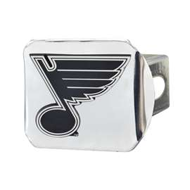 NHL - St. Louis Blues Chrome Hitch - Chrome Hitch Covers