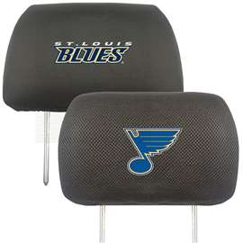 NHL - St. Louis Blues Head Rest Cover Automotive Accessory