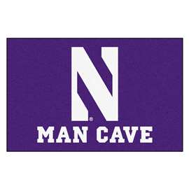 Northwestern University  Man Cave Starter Mat, Rug Carpet