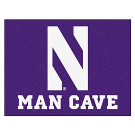 Northwestern University  Man Cave All-Star Mat, Rug Carpet