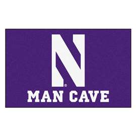Northwestern University  Man Cave UltiMat Mat, Rug Carpet
