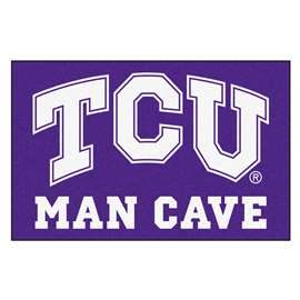 Texas Christian University  Man Cave Starter Mat, Rug Carpet