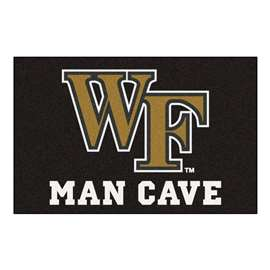 Wake Forest University Man Cave Starter Rectangular Mats
