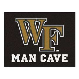 Wake Forest University Man Cave All-Star Rectangular Mats