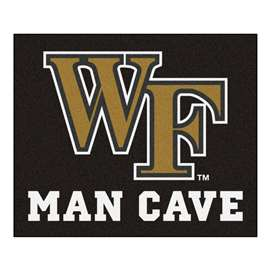 Wake Forest University Man Cave Tailgater Rectangular Mats