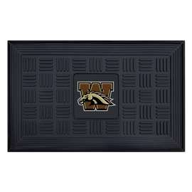 Western Michigan University Medallion Door Mat Door Mats