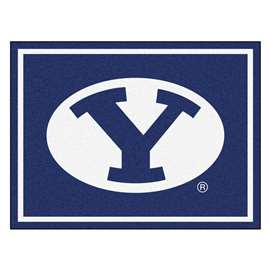 Brigham Young University  8x10 Rug Rug Carpet Mats