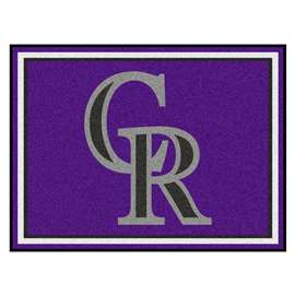 MLB - Colorado Rockies 8'x10' Rug  8x10 Rug