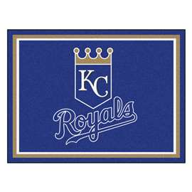 MLB - Kansas City Royals 8x10 Rug Plush Rugs