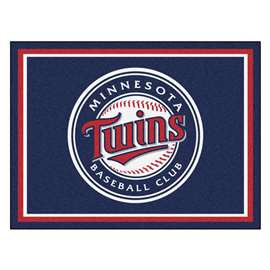 MLB - Minnesota Twins 8x10 Rug Plush Rugs